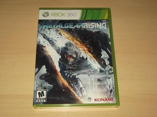 xbox 360 - metal gear rising revengeance (americano)