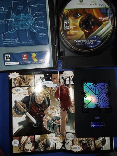 xbox 360 perfect dark zero collectors edition