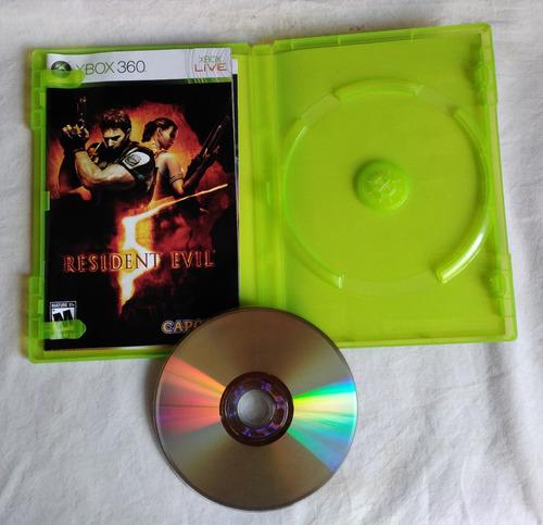 xbox 360 resident evil