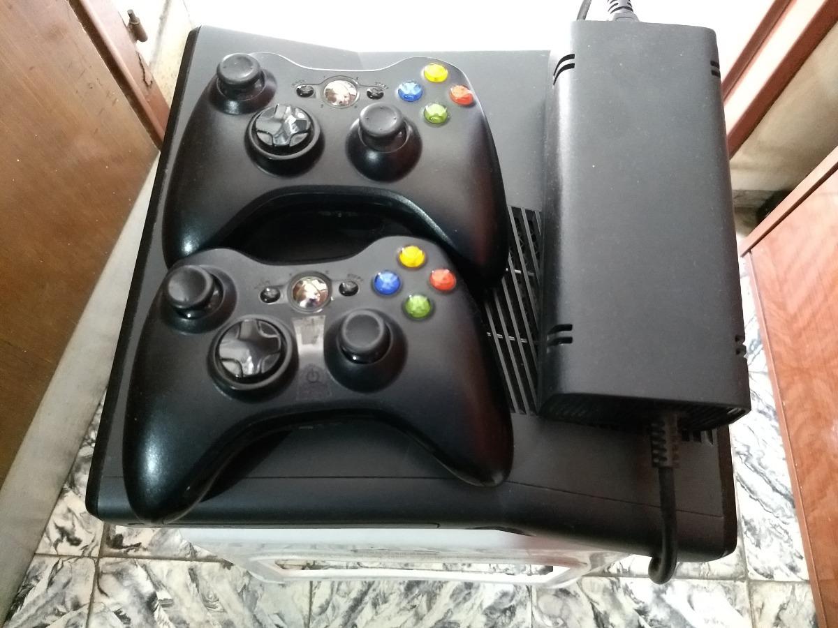 Xbox 360 Rgh 500gb 2 Joysticks Kinect 60 Juegos Instalado