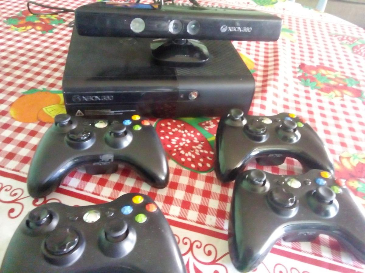 Xbox 360 Rgh Kinect 4 Mandos 50 Juegos 155 000 En Mercado