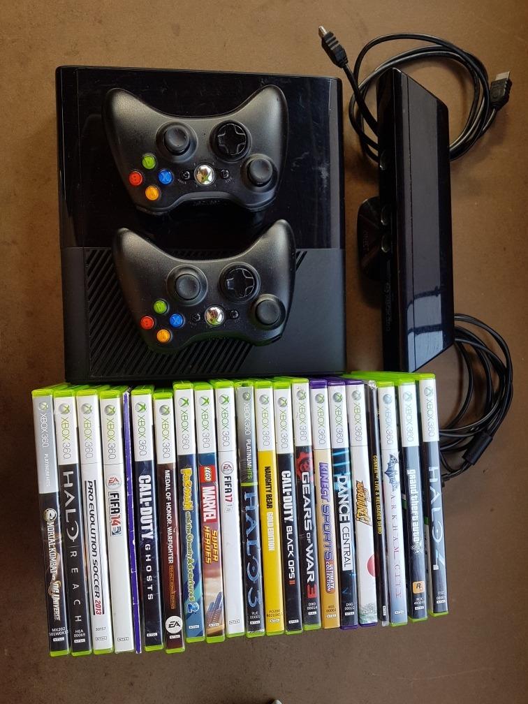 Xbox 360 Rgh Kinect 50 Juegos 500g S 600 00 En Mercado Libre