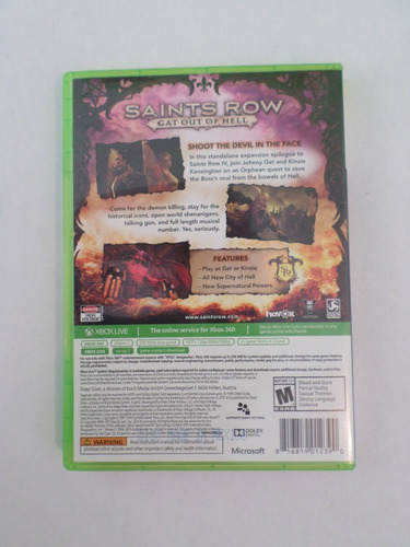 xbox 360 saints row