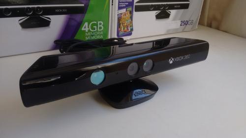 xbox 360 slim 2 controles kinect 12x sem juros 4 jogos