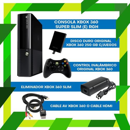 xbox 360 slim 250 juegos