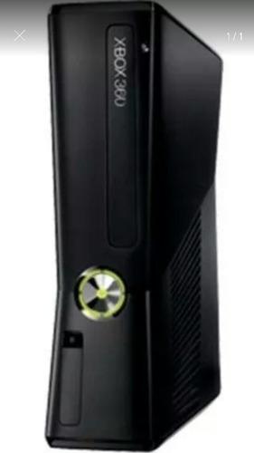 xbox 360 slim 320 gb con más de 12 juegos instalados