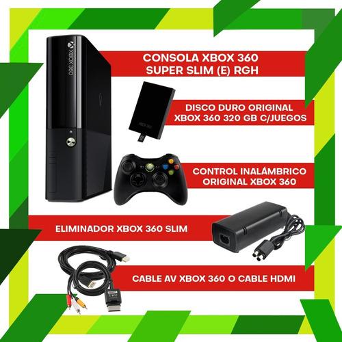 xbox 360 slim 320 juegos