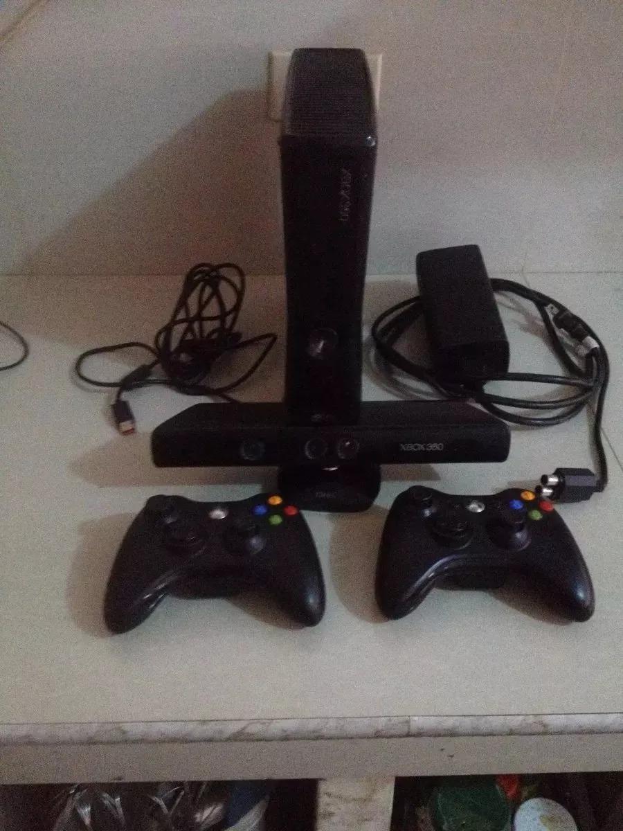 Xbox 360 Slim 4 Gb Kinect 2 Controles Juegos Bs 2 822 00 En