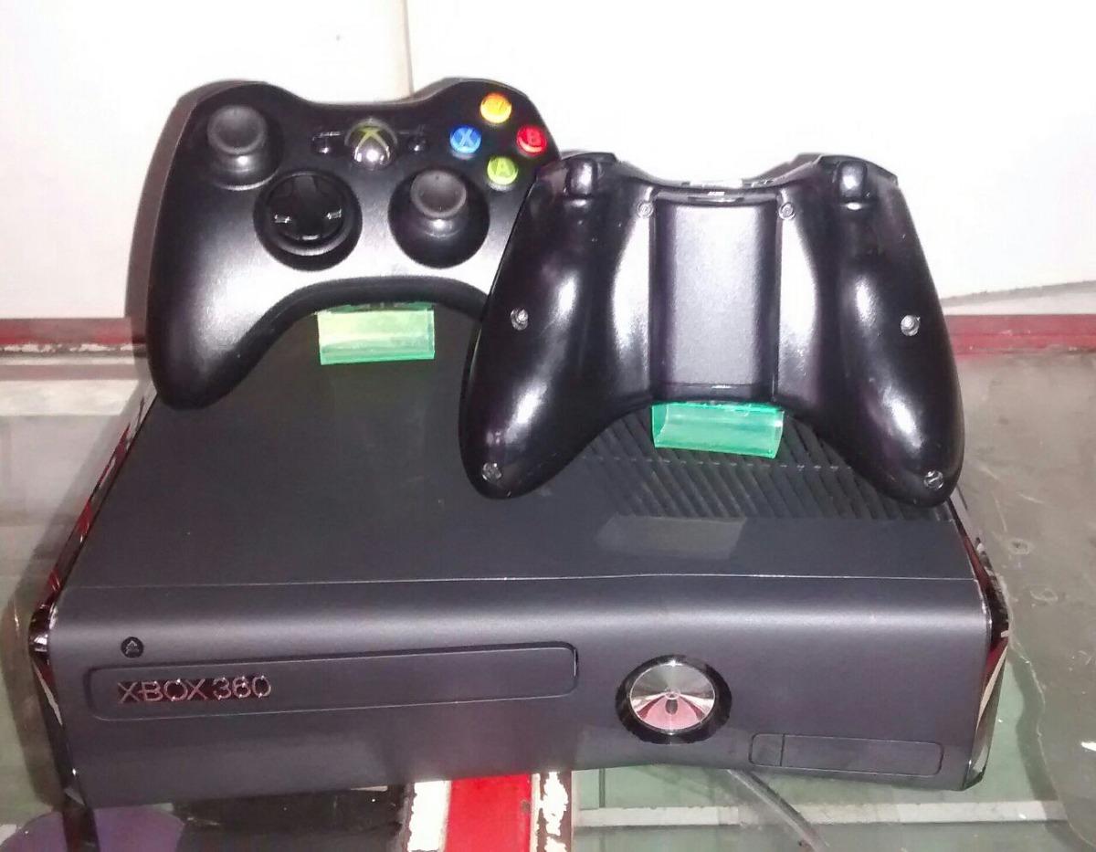 Xbox 360 Slim 5 0 Con Dos Controles Y 5 Juegos En Caja 550 000