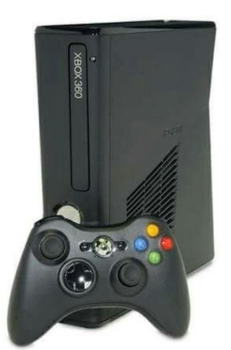 Xbox 360 Slim Bloqueado 4gb - R$ 598,90 em Mercado Livre