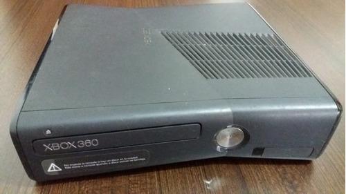 xbox 360 slim consola usada para reparar o repuestos
