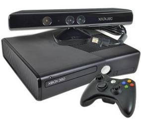 Xbox 360 Slim + Kinect Disco Duro De 250 Gb + 2 Juegos Orig