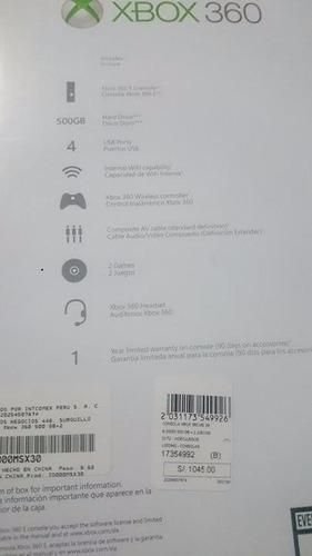 xbox 360 (totalmente nuevo + 2 juegos)