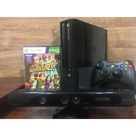 Xbox 360 U\slim +controle Original S\fio+ Kinect +jogo