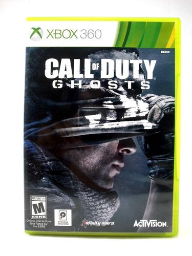 xbox 360 videojuego call duty