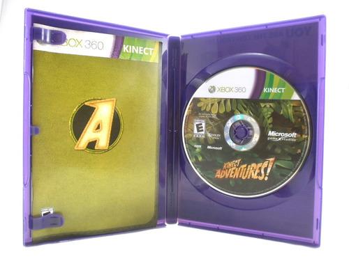 xbox 360 videojuego kinect adventures