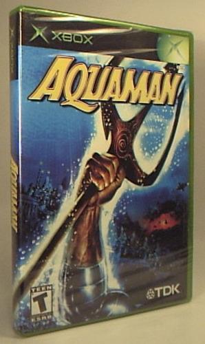 xbox aquaman: battle for atlantis  nueva sellada