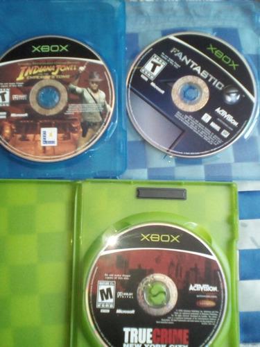 xbox clasico 3 juegos accion por el mismo precio todo