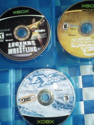 xbox clásico juegos legends of westling streetv3 exss