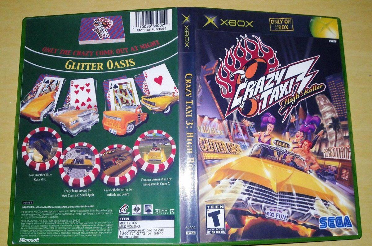 Xbox Crazy Taxi 3 Dvdr