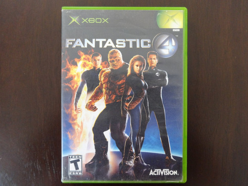 xbox fantastic 4 harness the power of four