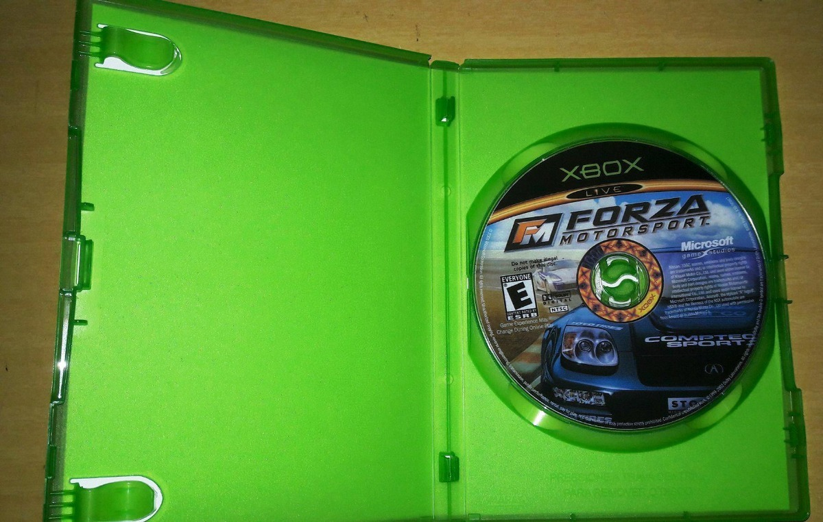 Xbox Forza Motosport Dvdr