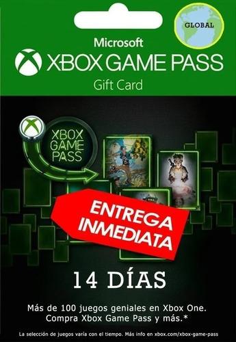xbox game pass 14 dias