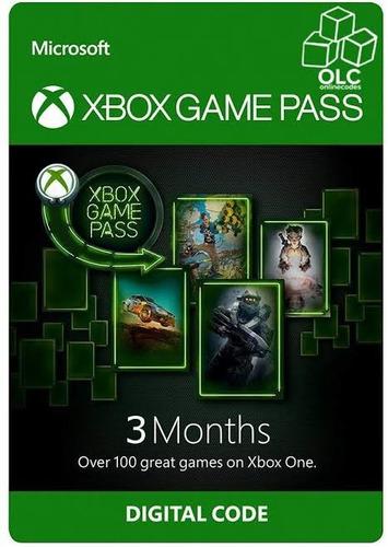 xbox game pass 3 meses