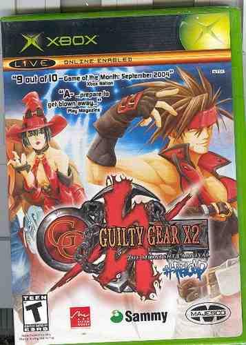 xbox  gulty gear x2/ nuevo /envio gratis