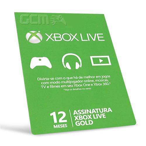 xbox live cartão