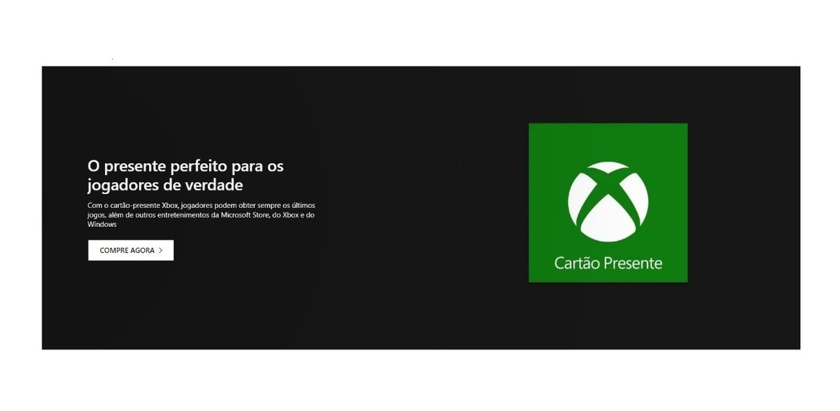 Xbox Gift Card Brl