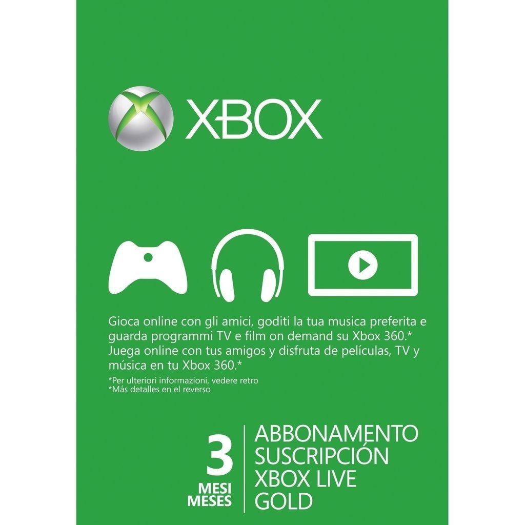 Xbox Live Gold 3 Meses Codigo Juego Gratis 47 900 En Mercado