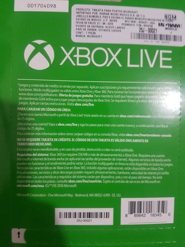 xbox live gold vend