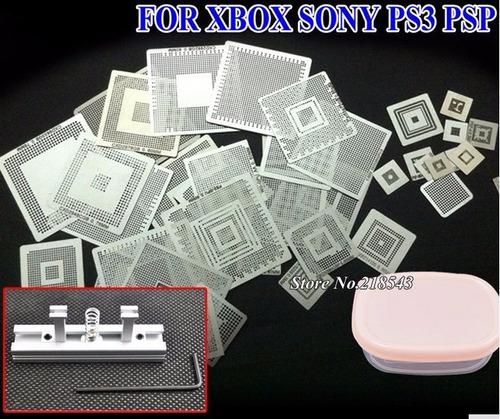 xbox nintendo sony psp 46pzas reballing envio gratis!!!