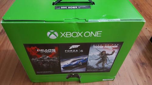 xbox one + 1 juego de su elección