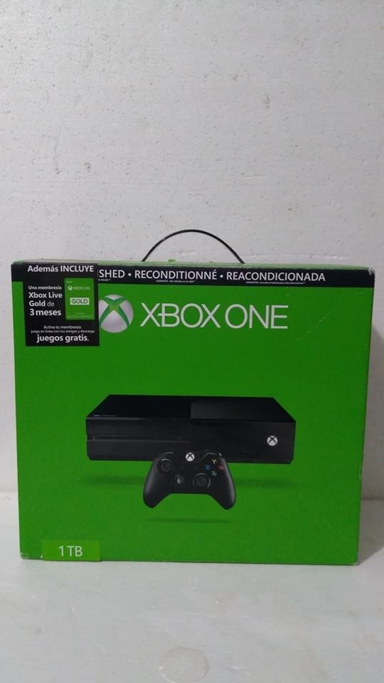Xbox One 1 Tb Con Live Gold 3 Meses Refurbished A Meses S In