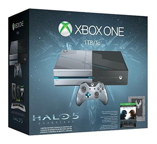 xbox one 1tb consola edición limitada halo 5 guardians bundl