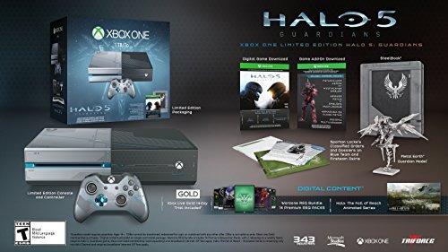 xbox one 1tb console edicion limitada halo 5 guardians bundl