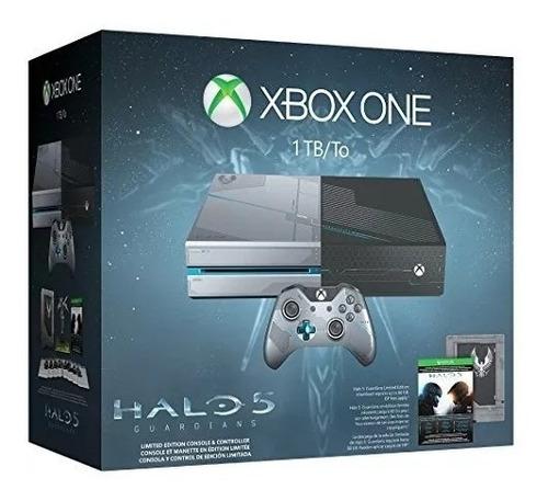 xbox one 1tb edición limitada halo 5 + kinect