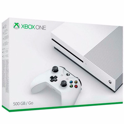 xbox one 500 gb 4k 1 controle +1 jogo garantia 1 ano