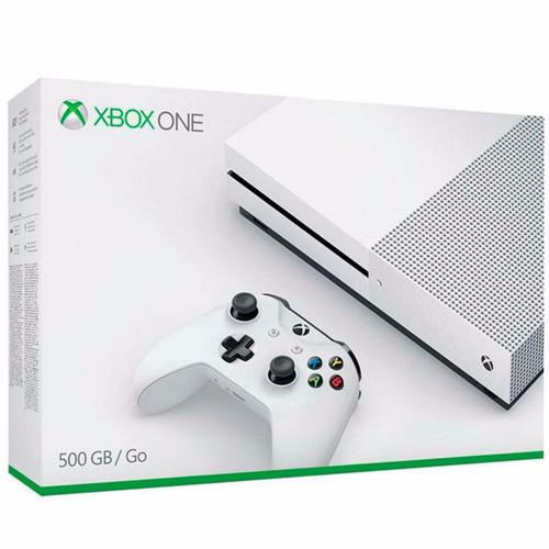 xbox one 500 gb (recon) 4k 1 controle  modelo novo aproveite
