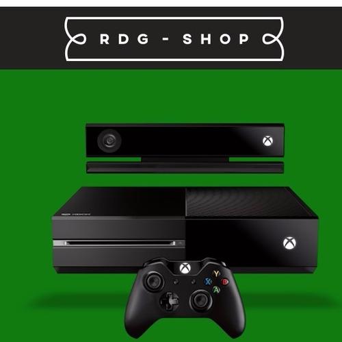 xbox one 500gb c/ kinect c/ 2 controles + 2 jogos + headset