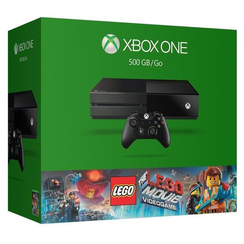 xbox one 500gb lego movie + juego gratis.