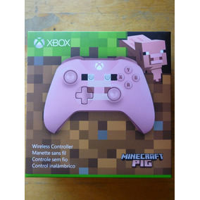 Xbox One Windows10 Control Edicion Especial Minecraft Pig