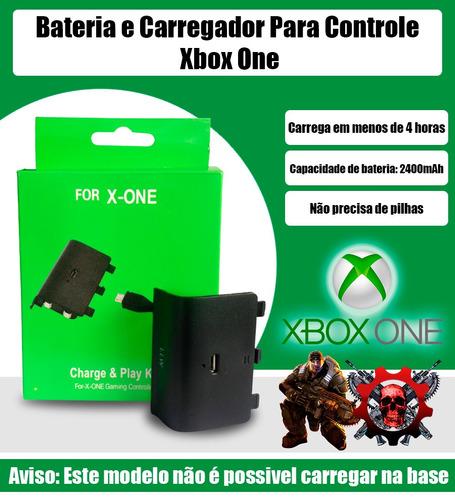 xbox one bateria carregador