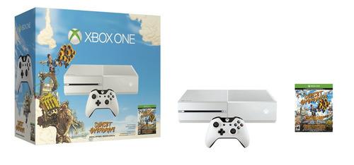 xbox one blanco de 500 gb  dos controles y 8 juegos