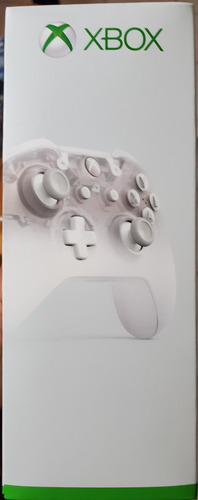 xbox one control, phantom white, sellado, pc, bluetooth