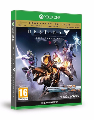 xbox one destiny the taken king legendary edition-juego fís
