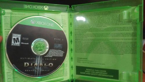 xbox one diablo 3 vendo cambio