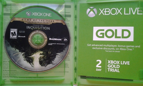 xbox one dragon age inquisition $385 pesos - usado mikegames